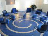 Virtue Medicine Iowa City studio chairs in circle